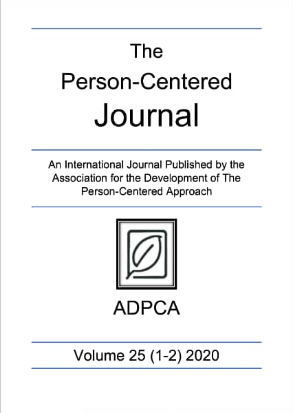 the Person-Centered Journal